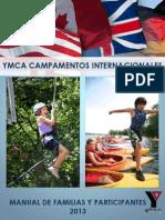 Manual Para Familias y Participantes en Campamentos Internacionales YMCA 2013