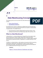 Datawarehouse Concept