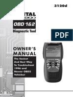 innova 3120 b Diagnosic Tool Manual