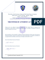 The Power of Attorney Act of 2013