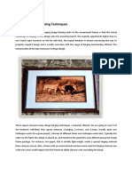 Picture Frame Mounting Techniques