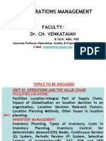 Unit-IV - Operations and the Value Chain_class
