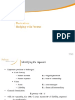 Derivatives Hedging With Futures