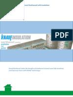 Knauf Earthwool Insulation Guide