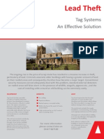 Preventing Lead Theft with Tag Systems