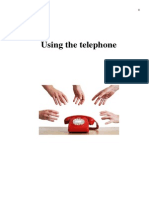 Using the Telephone