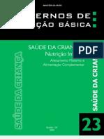 Cadernos de Atenção Básica - Saúde da Criança