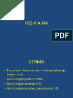 Slide Referat Fissura Ani BEdah Digesitf