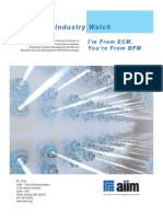 Ecm Bpm Industrywatch