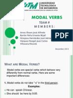 Modal Verbs- English Class