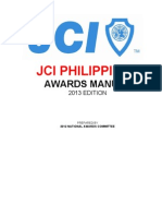 JCI 2013 Awards Manual