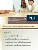 Pmp 10 Stakeholder Management