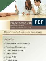Pmp 02 Project Scope Management