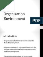 Organization and Environment