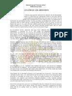 ELECCIÓN DE LAS AMISTADES