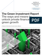 WEF GreenInvestment Report 2013