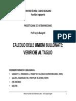 34223-Unioni Bullonate a Taglio