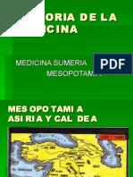Clase 2.Hdlm. Medicina Sumeria
