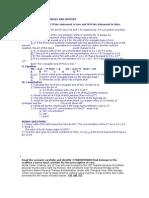 Acid, Base and Buffers Quiz