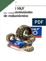 SKF - Manual de mantenimiento de rodamientos.