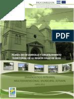 Diagnóstico Integral Multidimensional Municipal Jutiapa - Procorredor