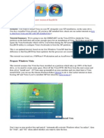 Dualbooting Vista and Xp