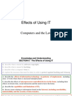 Effects of Using IT - BH