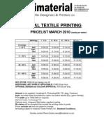 Digital Textile Printing March 2010