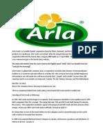 Arla Foods is a Swedish