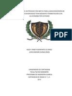 APLICACIÓN DE UN PROCESO FED-BATCH PARA LA BIOCONVERSIÓN DE GLICEROL A DIHIDROXIACETONA MEDIANTE FERMENTACIÓN CON  GLUCONOBACTER OXYDANS