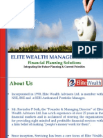 Financial Planning with Elite Wealth