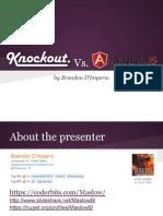 Knockout vs Angular