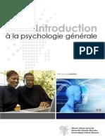 Introduction a La Psychologie Generale