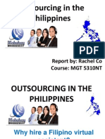 Outsourcing in the Philippines