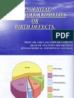 Congenital Anatomic Anomalies