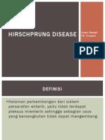 Hirschprung Disease pada anak