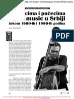 Istorija World Music u Srbiji