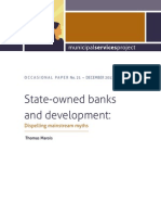 State-owned banks and development