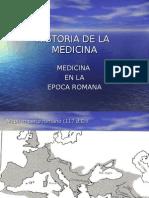 Clase 5.Hdlm.medicina Romana.
