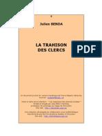 Julien Benda-La Trahison Des Clercs