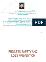 Process Safety Loss Prevention