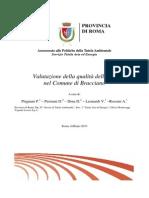 Valutazione della qualità dell'aria nel Comune di Bracciano (2010)