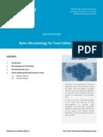 Basic Microbiology for FSMgrs
