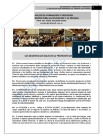 233. EDUCADORES Y DOCENTES + NUEVOS TIEMPOS PARA LA EDUCACION Y LA ESCUELA