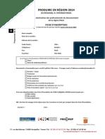 Inscription Produire en Region Paca