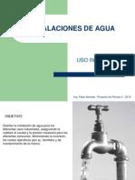 Agua de Uso Industrial