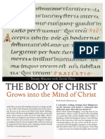Grow Into the Mind of Christ