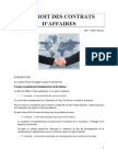 DROIT DES CONTRATS D'AFFAIRES.doc