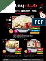 Leták PlayKlub 12/2013