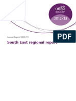 Ofsted South East Regional Report